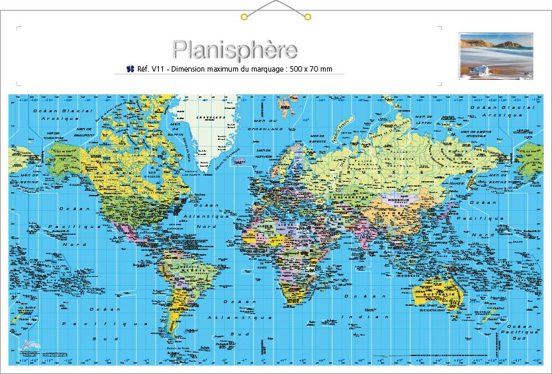 calendrier rigide 14 mois calendriers publicitaires kelcom. Black Bedroom Furniture Sets. Home Design Ideas