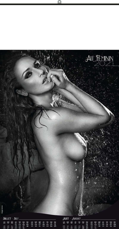 Calendrier AUBADE 2016 lingerie femme photo
