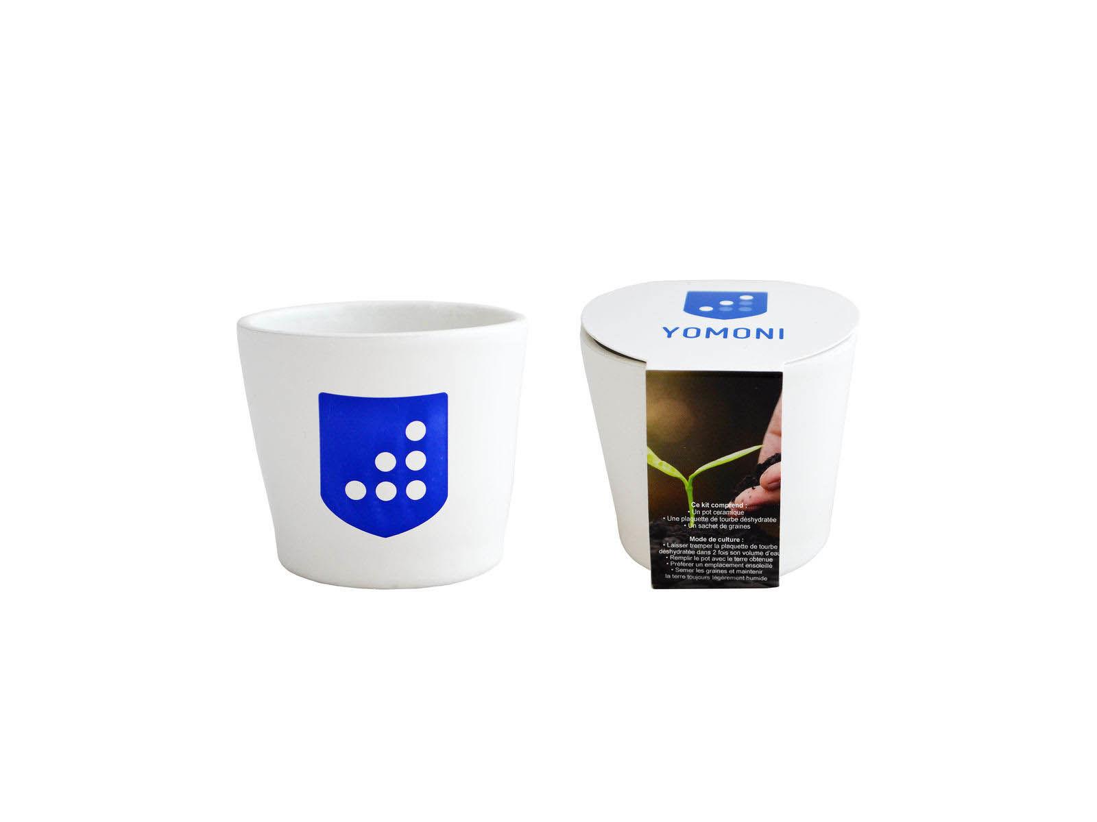 Kit de plantation ceramique pour entreprise outils de for Objet de jardinage