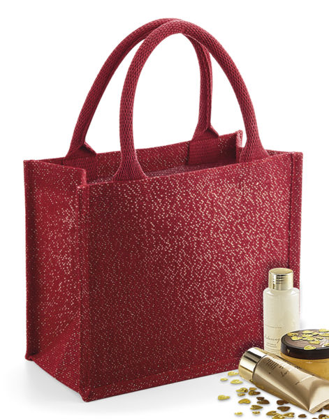 Sac shopping publicitaire | Djunia Red Gold Red