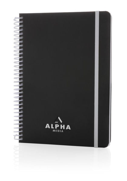 Carnet A5 personnalisable | Spirale White 5