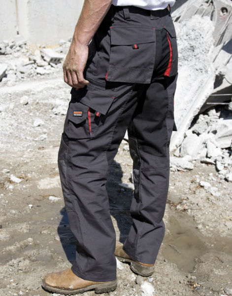 Pantalon publicitaire workwear | Technical Grey Black Grey