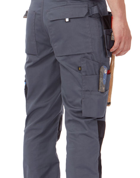 Pantalon publicitaire de travail | Perf Pro Steel grey Black Steel grey