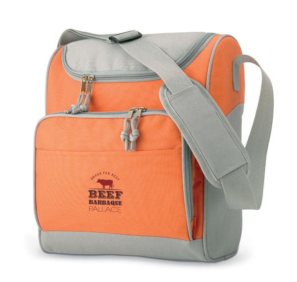 Sac isotherme publicitaire | Zipper Orange 4