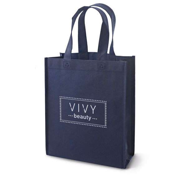 Sac shopping publicitaire | Wembley Bleu 1