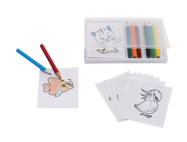 Set de coloriage personnalisé | Crazy Animals Multicolore