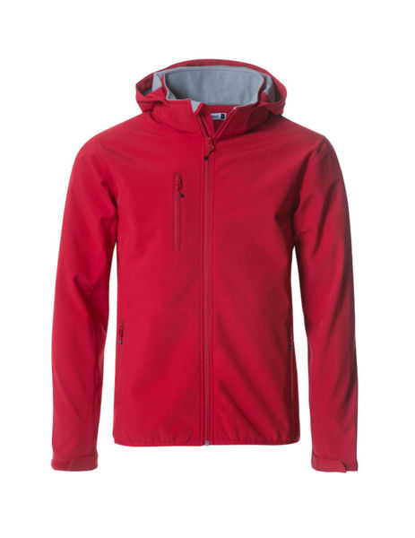 Softshell publicitaire | Basic Hood Red 1
