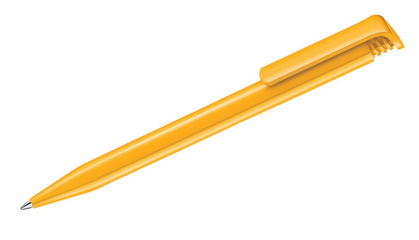 Stylo bille personnalisé | Super Hit Polished Jaune 7408