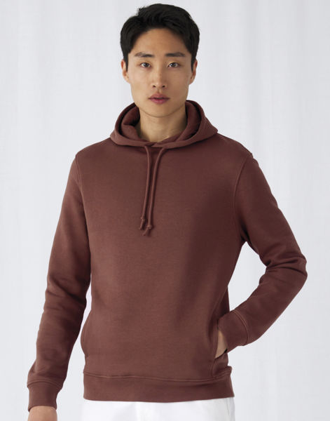 Sweat publicitaire | Organic Hooded Mocha