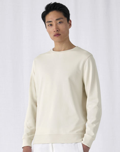 Sweatshirt personnalisé | Organic Terry Off White