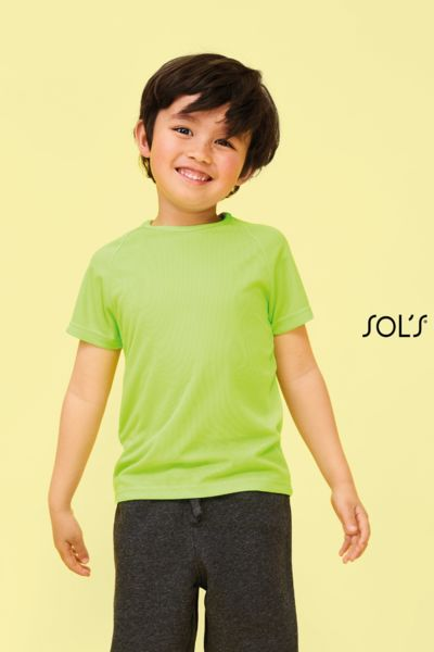 T-shirt de sport personnalisable | Sporty Kids