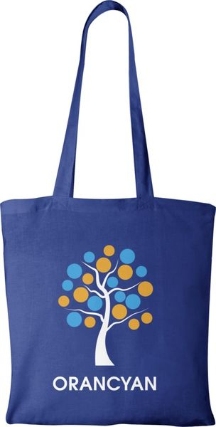 Tote bag publicitaire | Carolina Bleu royal 1
