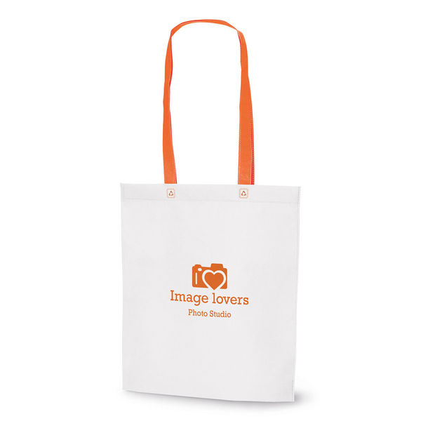 Tote bag personnalisé | Woodbury Orange 1