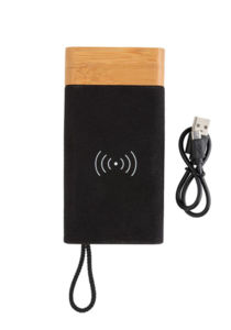 Batterie de secours publicitaire | Bamboo X Brown 2