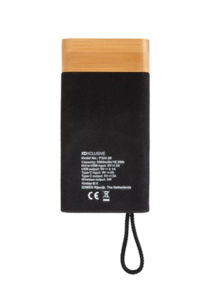 Batterie de secours publicitaire | Bamboo X Brown 3