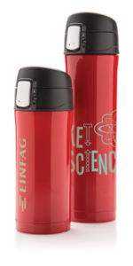 Bouteille isotherme personnalisable | Lampade Rouge Noir 11