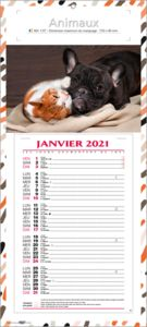 calendriers animaux 1