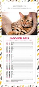 calendriers animaux 2