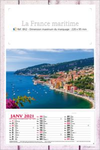 calendriers France maritime