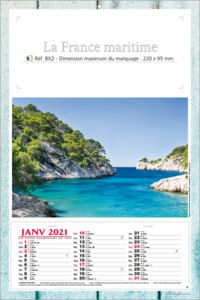 calendriers France maritime 1