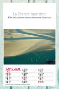 calendriers France maritime 2