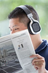Casque audio publicitaire | Vogue C Gris 6