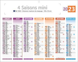 minis calendriers 4 saisons 1