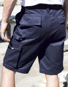 Short publicitaire workwear | Action Short Navy
