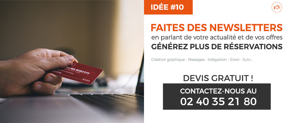 newsletter messages actualite hotel